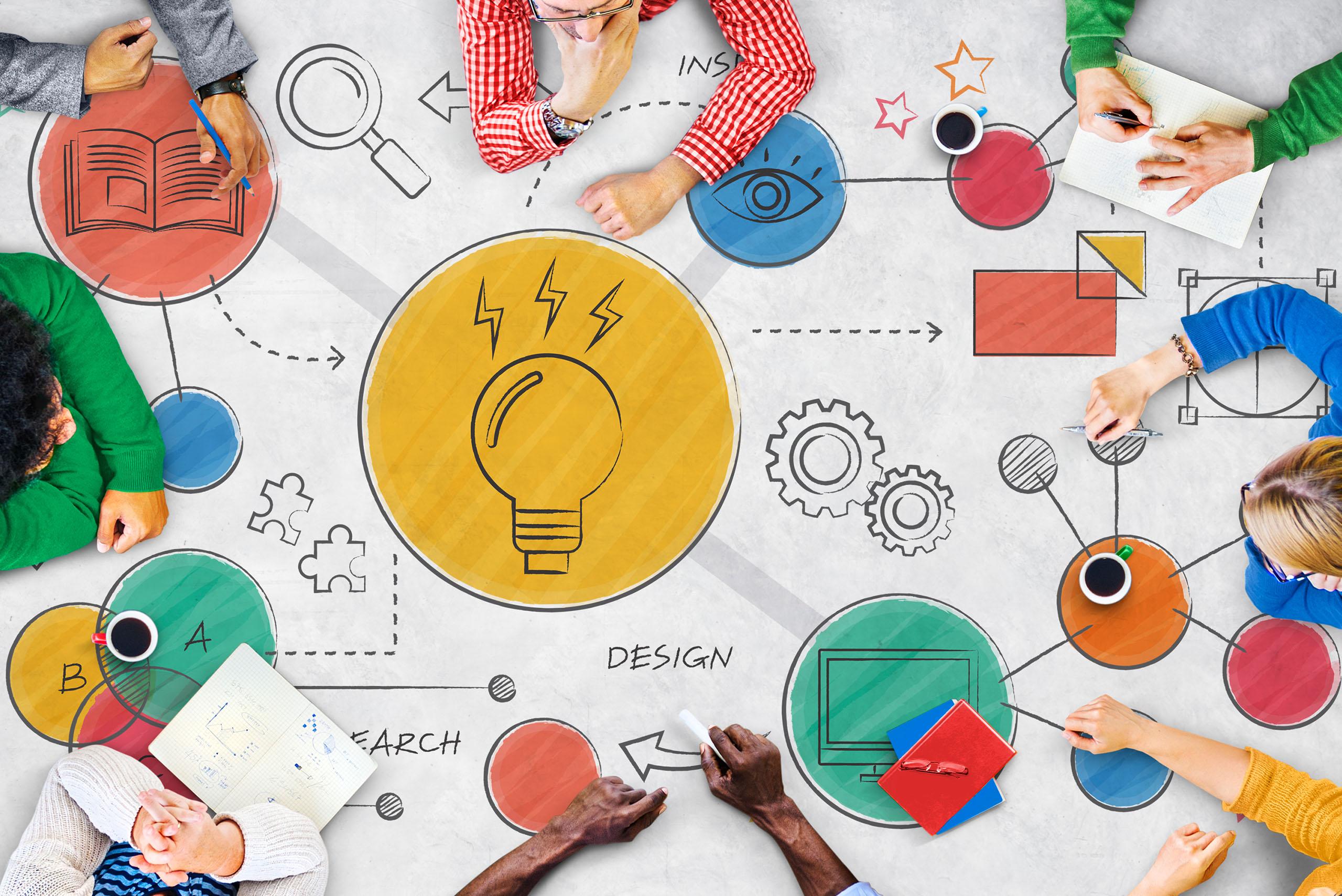 Como desenvolver as suas  ideias criativas e transformá-las em dinheiro