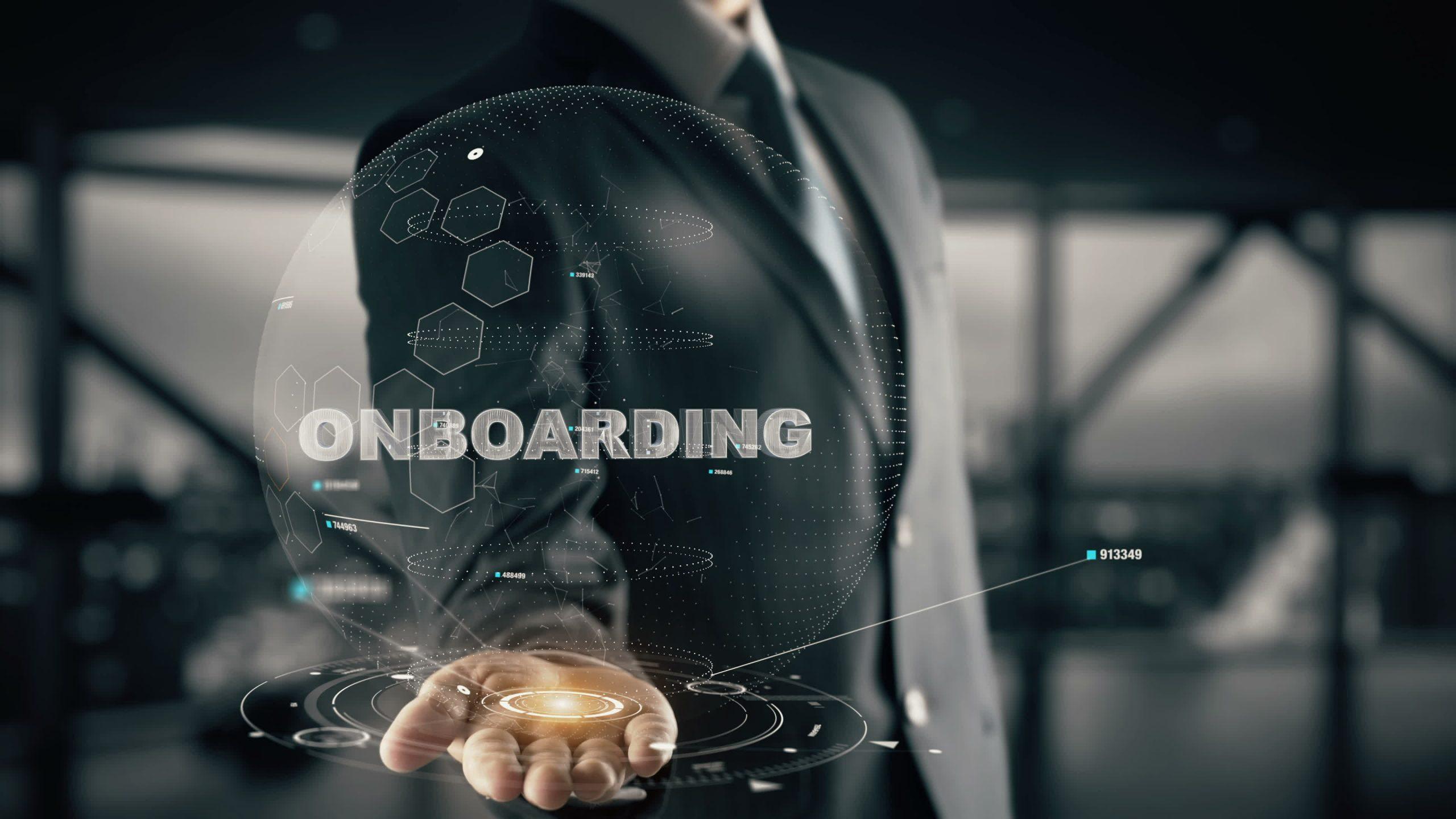 Onboarding, colocando o time pra jogo